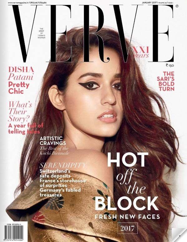Disha Patani Photoshoot Verve Magazine January 2017 Image 4