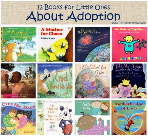 12 Books for Little Ones about Adoption