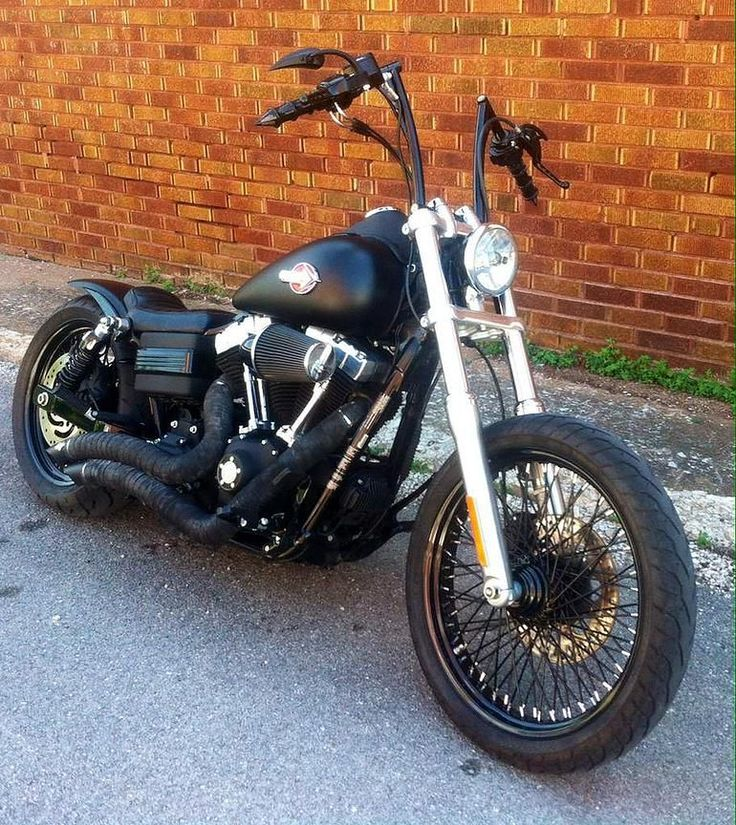 Gary's 2011 Harley Davidson Street Bob with Voodoo Fender (extended version) & Weeli Seat.   Rocket Bobs