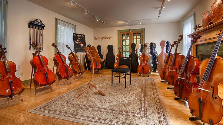 A Point Of Interest shot of the cello showroom from our soon-to-be-launched Google Virtual Tour!