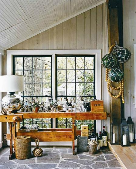 mud room thom filicia cabin