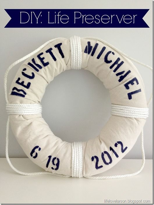 16 DIY Nautical Home Decor {The Weekly Round Up} | Titicrafty by Camila