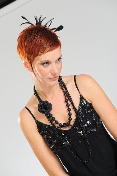 Ook kort haar is mooi met een haaraccessoire!!!! #haaraccessoire#feestkapsel# kort haar
