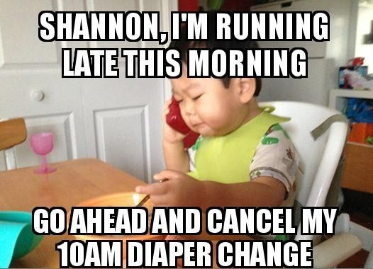 Have you met Business Baby? This new meme is taking the internet by storm (24 Images)