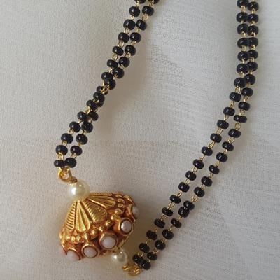 Golden Antique Ball Mangalsutra