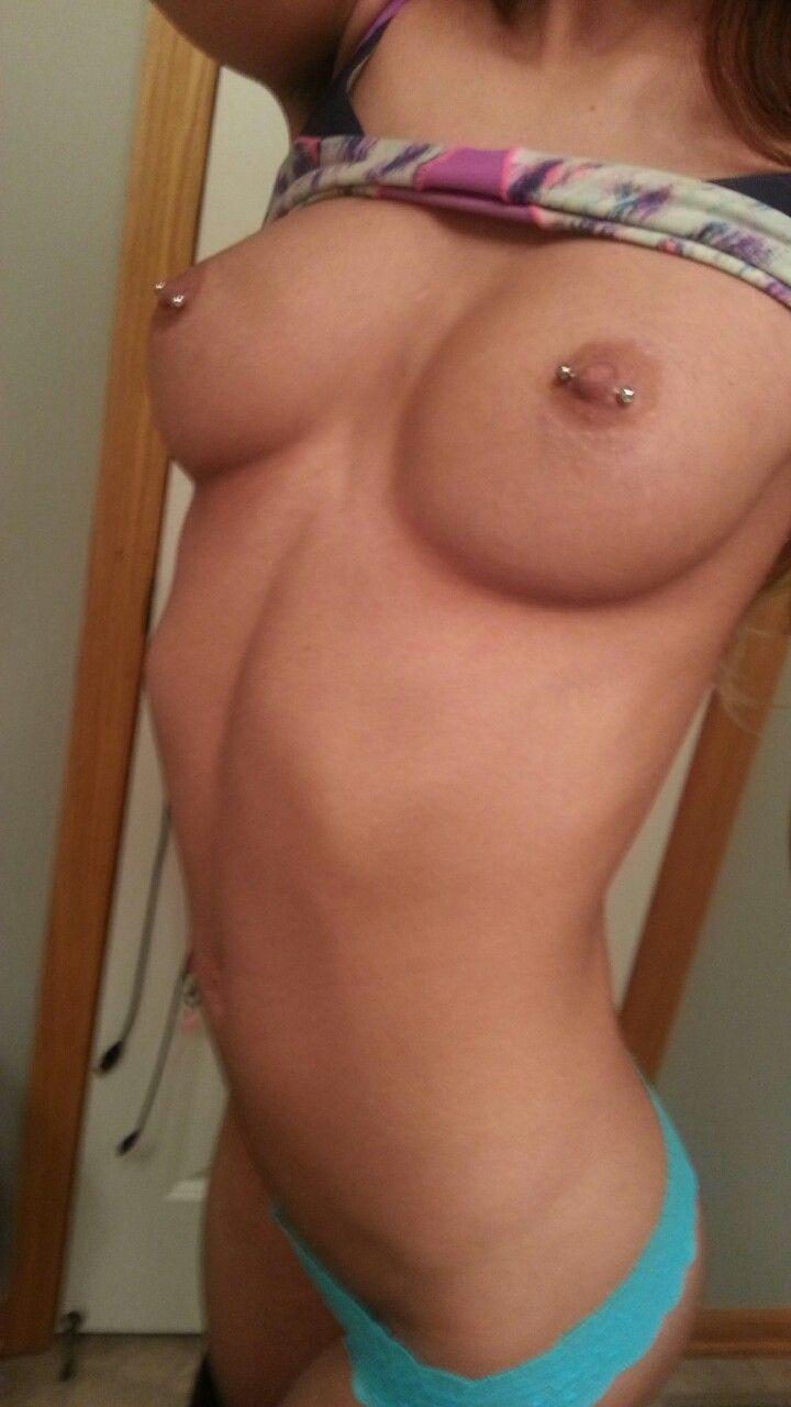 Simply body selfie girl nipples pierced consider, what