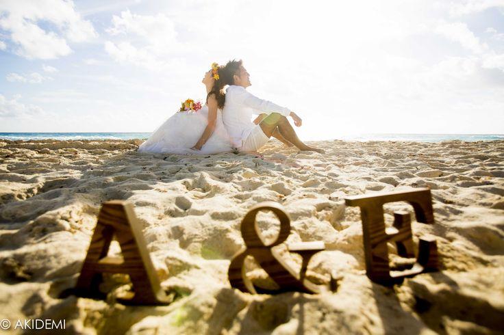 Photo shooting at Dolphin Beach-El Mirador ウエディング フォトセッション ドルフィンビーチ-エル ミラドール AkiDemi Photography