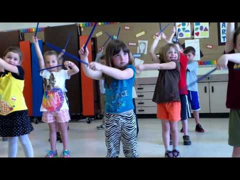 ▶ Music Concert 3: Rhythm Sticks- Clock... The alarm is my favorite part! - YouTube