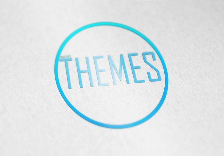 Yatay Düzlem Üzerinde 3 Boyutlu Logo Çalışması PSD Dosyası | Freebies Themes | Ücretsiz Temalar ve Tüm Web Tasarım Malzemeleri | Freebies Themes And All Design Materials