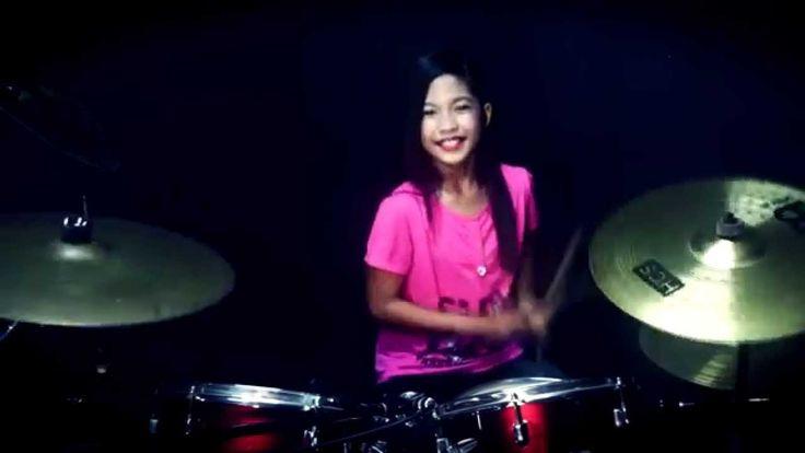 Biru Band - Pacar Yang Hilang - Drum Cover by Nur Amira Syahira