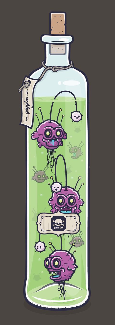 Creepy Cute - The Exhibition by Cohen Gum