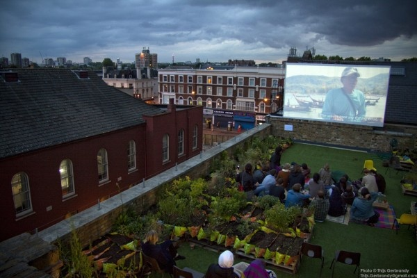 Dalston Roof Park – London, England