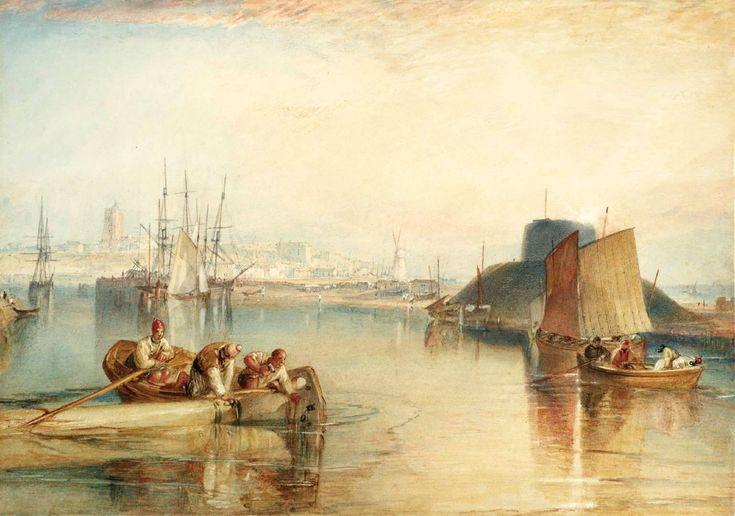 Joseph Mallord William Turner -  Aldborough, Suffolk