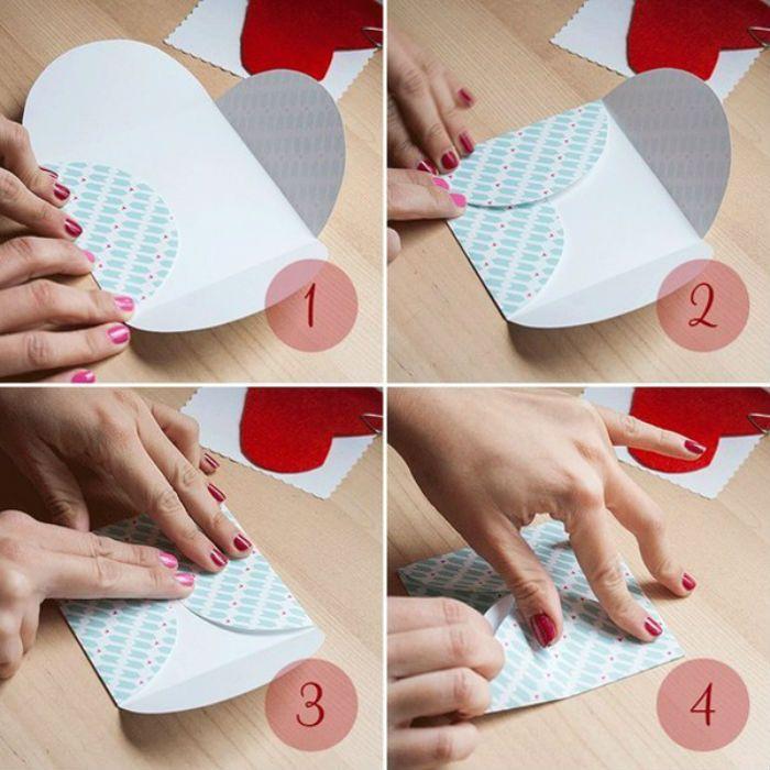 Картинки, как сделать конверт из бумаги для открыток