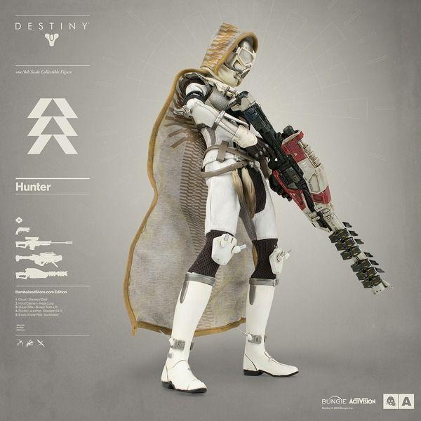 Stunning $190 Destiny figures pack Thorn Ice Breaker Shattered Vault cloak