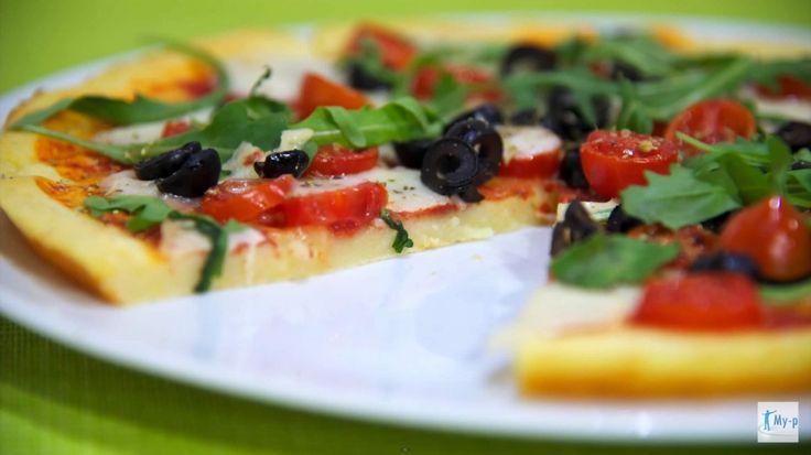 Pizza alle patate senza glutine