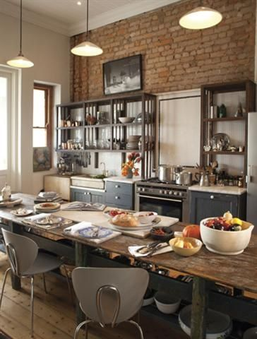 Small modern kitchens - Plaaskombuis House Plans Pinterest