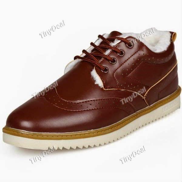Интернет - магазины : Мужская обувь, модная, мужская утепленная ботинка,...