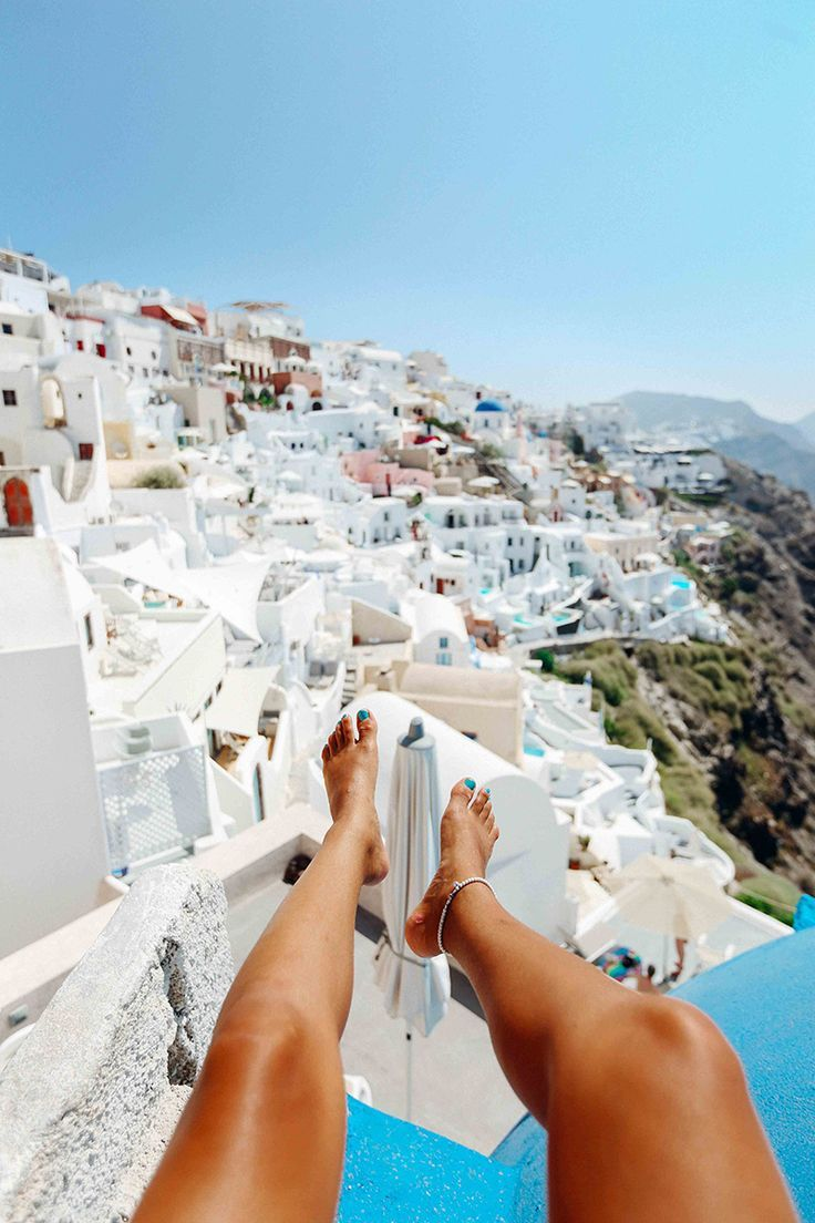 """Santorini; probably the most romantic place I've ever been to. I'm so lucky I got to be single AF in Santorini with one of my best friends! Seriously though, I absolutely loved this place. Why? Even though it was a definite """"on the map"""" tourist destination, I felt like I was left on my own …"""