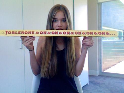 Toblerone & on & on :-)