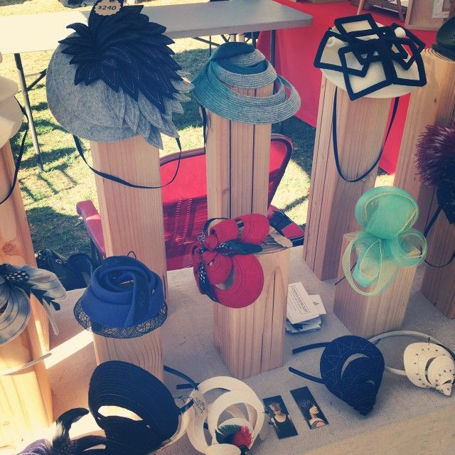Beautiful artistic and one-of-a-kind hats by #pookaqueen at #jackalope in #pasadena today! #lahatcollective