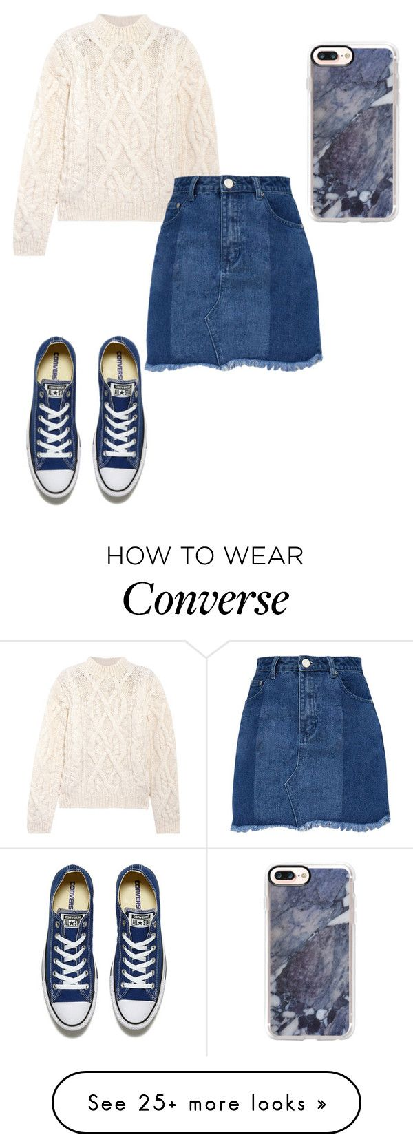 """Untitled #121"" by addieraedesigns on Polyvore featuring Casetify, Acne Studios and Converse"