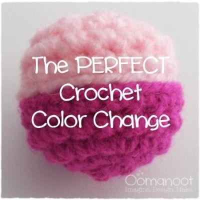 Oomanoot   The Perfect Crochet Color Change