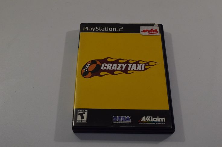 Just added Crazy Taxi- PS2 to our Inventory! Check it out here: http://oceanside-flipping.myshopify.com/products/crazy-taxi-ps2?utm_campaign=social_autopilot&utm_source=pin&utm_medium=pin  #Oceanside #OceansideCA #SanDiego #4Sale #Buy #Trade #Sell