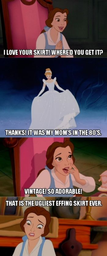 Disney Mean Girls