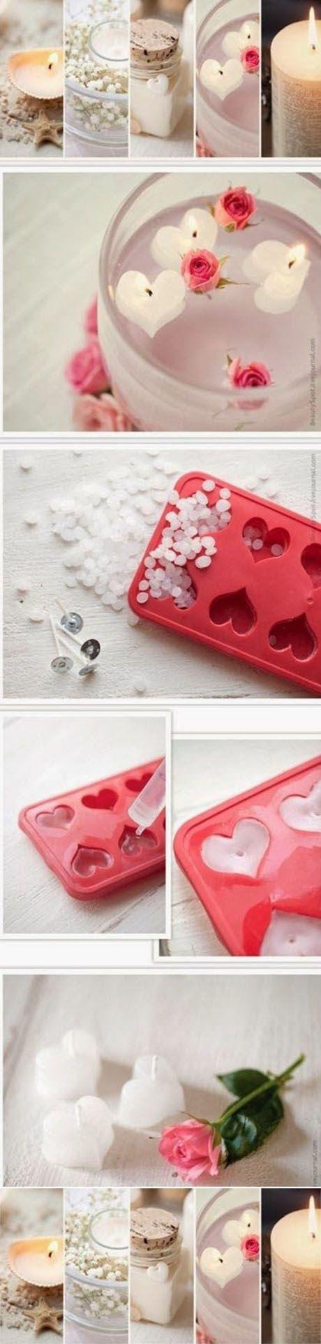Diy Heart-shaped Candle | DIY & Crafts Tutorials