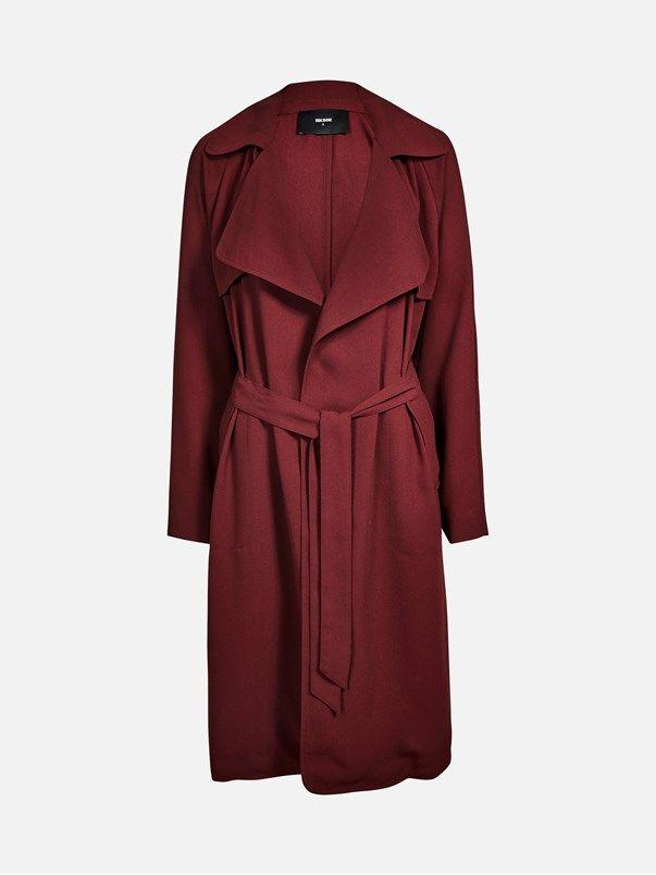 Tracy jacket | | Viininpunainen | BikBok | Suomi