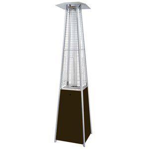 AZ Patio Heaters Tall Quartz Glass Tube Propane Patio Heater Information