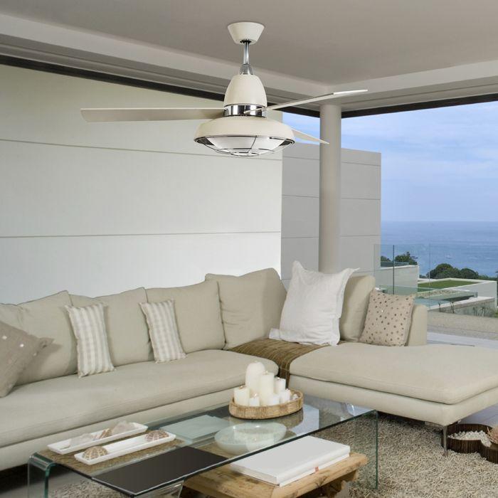 Vintage ventilatore - Leds C4 Illuminazione - Ventilatori - Progetti in Luce