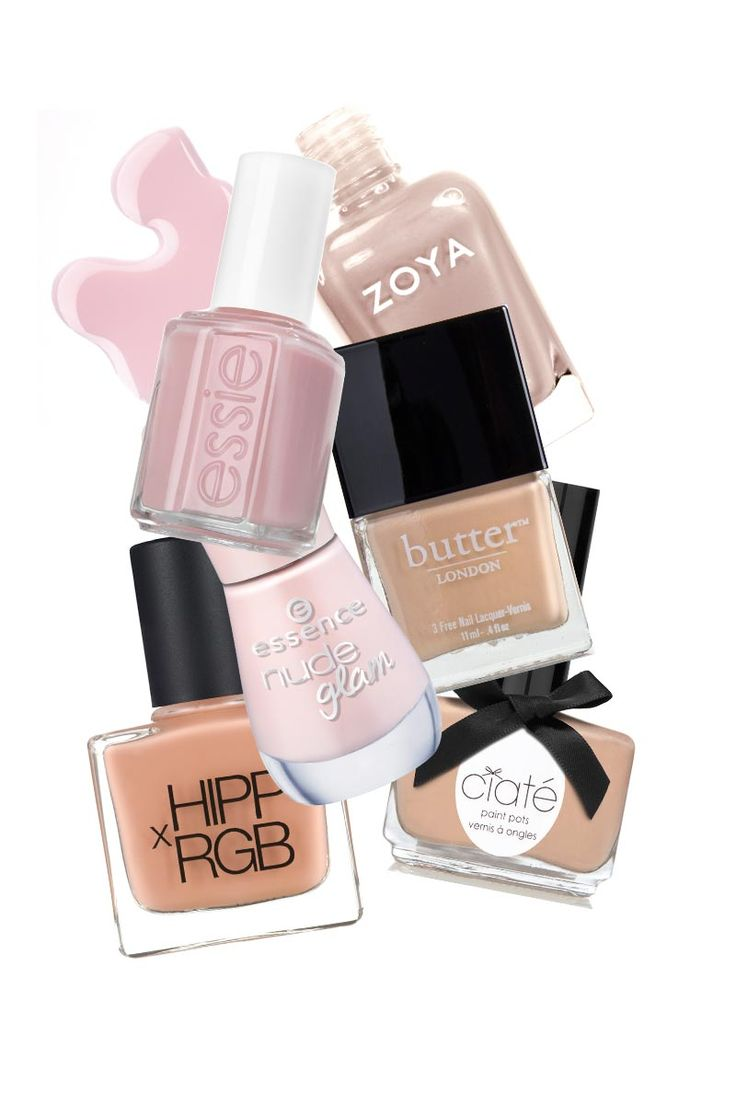 Spring Nude Nail Polishes - Nude Nail Polish For Every Complexion - ELLE