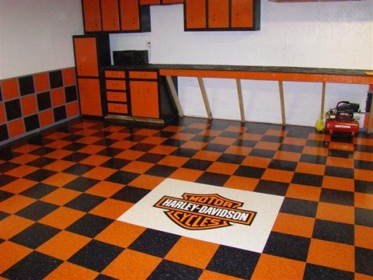 Man Cave Garage Paint Ideas : Harley davidson paint schemes for garage help me pick a