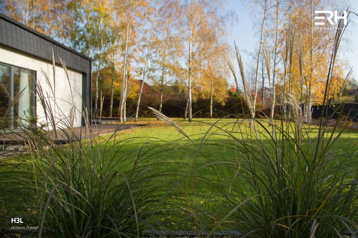 House H3L in Kłodawa, Poland #architecture #design #modernarchitecture #dreamhome #home #house #passivehouse #energysavinghouse  #modernhome #modernhouse #moderndesign #homedesign #modularhouse #homesweethome #scandinavian #scandinaviandesign #lifestyle  #nature #autumn #garden #ecoreadyhouse #erh