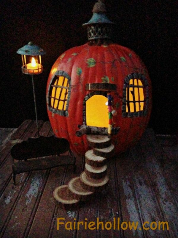 fall garden pumpkin fairy house warm season cold home clearance center windows doors wild natural home craft store imagine life