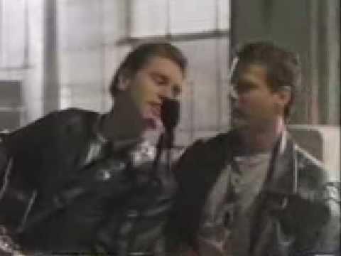 Paul Gross and David Keeley - singing Voodoo