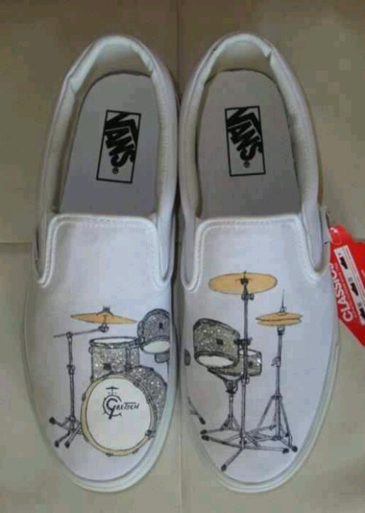 ABSOLUTELY LOVE THEM!!!  They should come in black with like a pink or mint color drum kit though because I would get these so dirty.