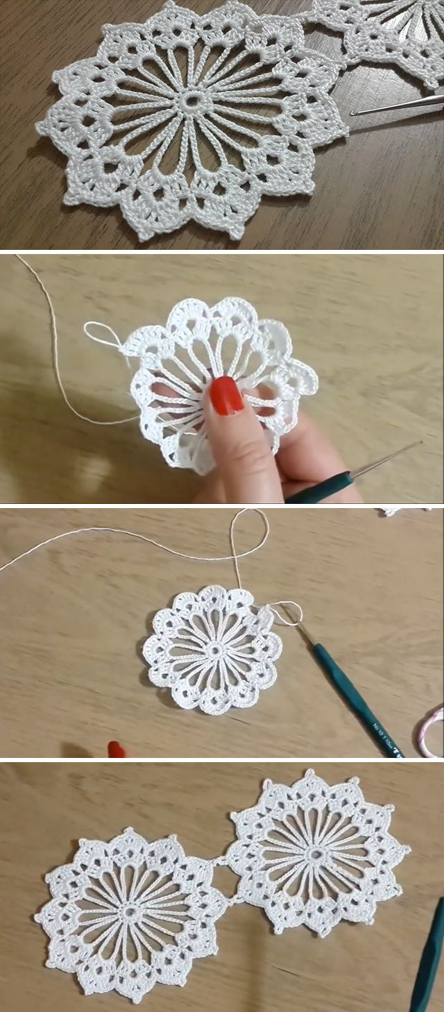 Crochet Lace Pattern For Table Runners