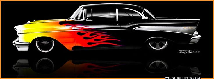 Custom Flames On Cars Chevy Car Covers For Fb Timeline Dap Of