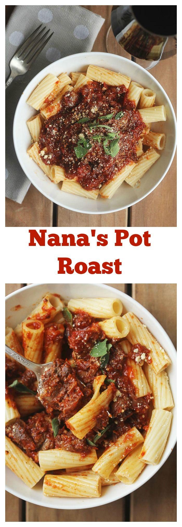 Nana's Pot Roast | Grandbaby Cakes