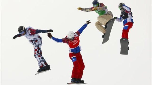 Snowboard Cross - So exciting!