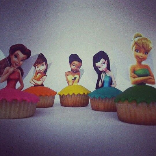 Tinkerbell cupcakes! Banchetto Sweet
