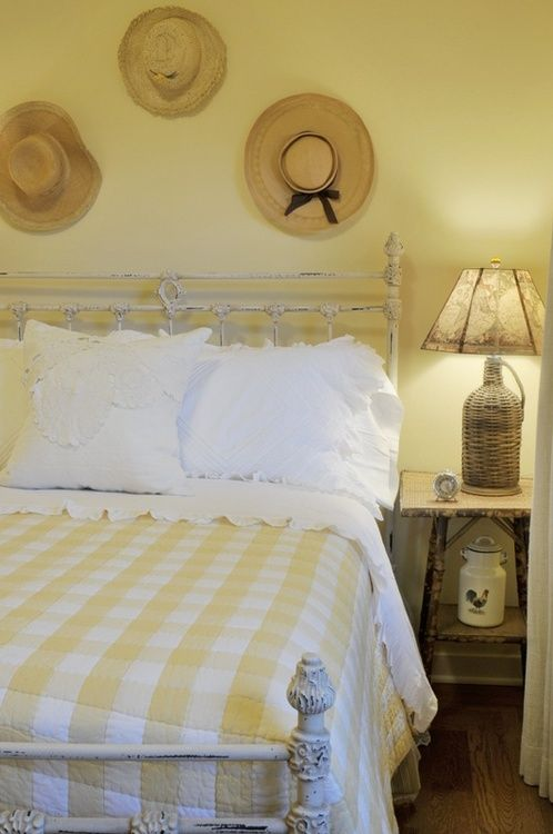 Find This Pin And More On Cottage Life Lemon Lime Sunshine Cottage Adeeni Design Group Guest Bedroom