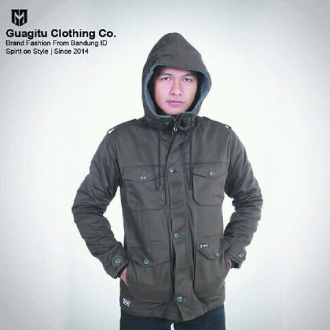 Parka jacket hunter High quality parka jacket from Guagitu Clothing Co.  http://www.guagitu.com