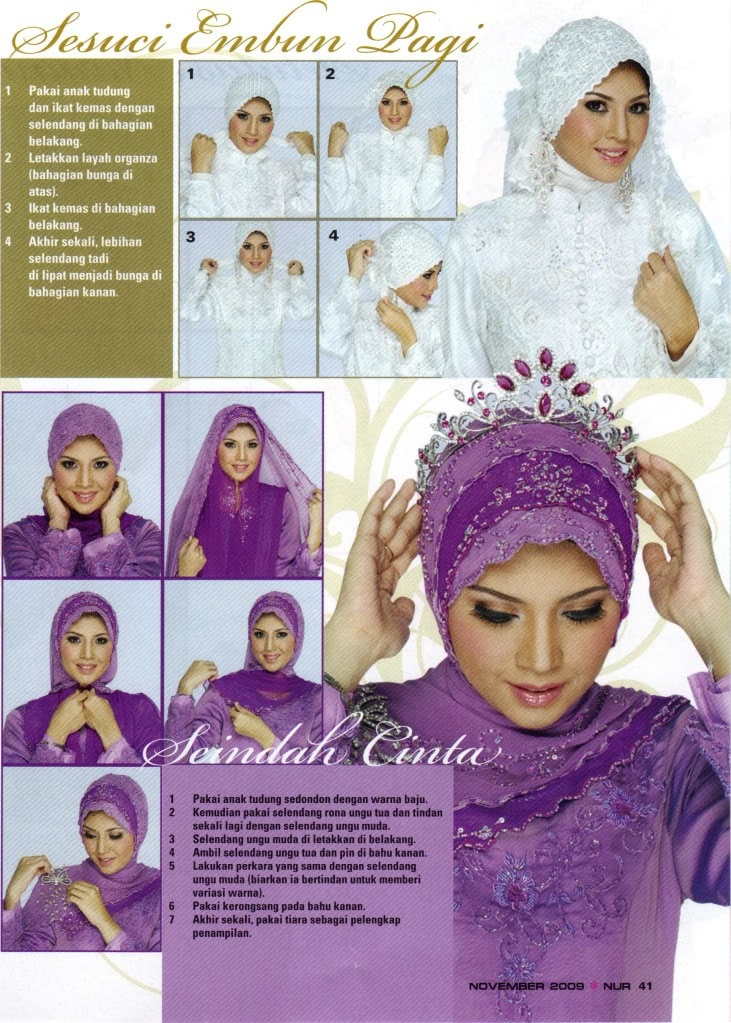 Wear hijab for wedding