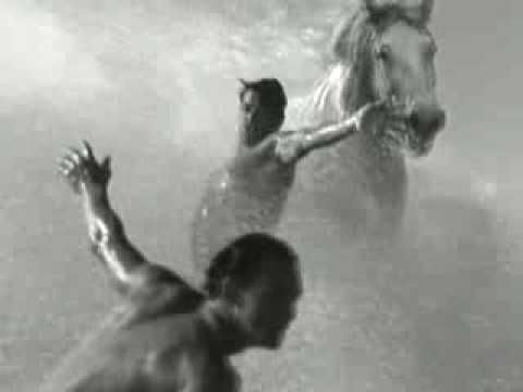 Guinness, very powerful and energizing ad likened waiting for a Guinness to waiting for the perfect wave. Was filmed in Hawaii.