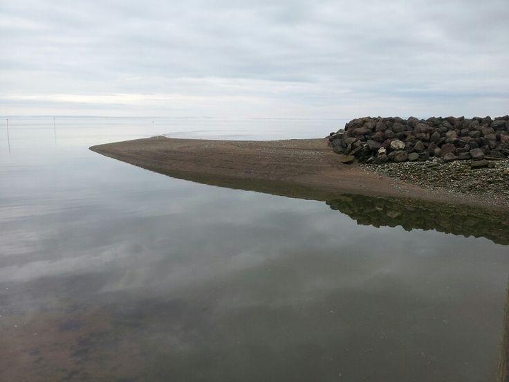 Alma, NB - tide coming in