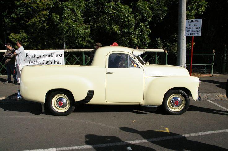 FJ Holden utility Ballarat Victoria Australia
